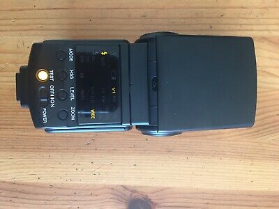 Sony HVL-F42AM high power Flash-excellence condition