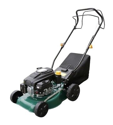 16-Inch Lawnking 99cc Petrol Lawnmower with 45L Collection Bad