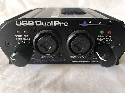 ART usb dual pre 2 channel pre amp with USB output