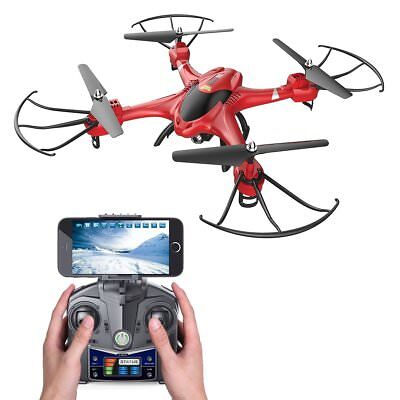 Holy Stone HS200 2.4GHz 4CH 6-Axis Gyro RC Drone Quadcopter w/ FPV Wifi Camera