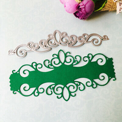 Card Lace Metal Cutting Dies Stencil For Scrapbooking Paper Embossing DIY 1pc