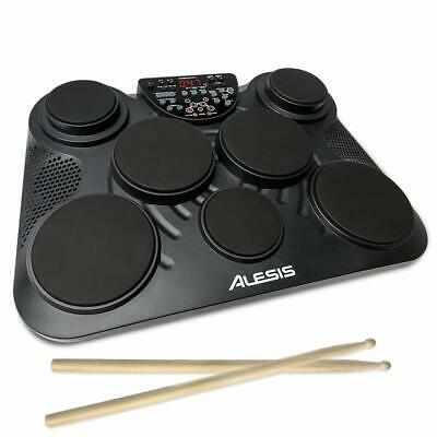 Alesis CompactKit 7 ? Ultra-Portable 7-Pad Electronic Table-top Drum Kit with Ve