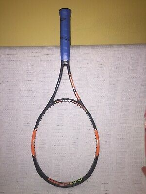 Tennis Racquet Wilson Pro Stock H22 Mold Burn Paint