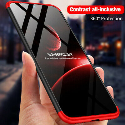 For Samsung Galaxy M20 M10 360°Full Protection Case Hybrid Armor Hard Back Cover