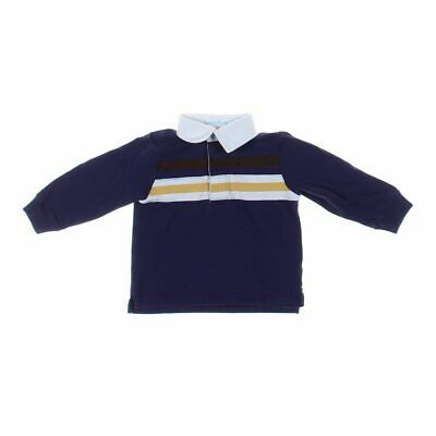 Janie and Jack Baby Boys Rugby Shirt, size 18 mo,  gold, white,  cotton