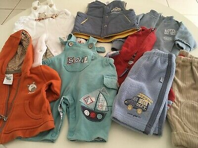 8 X Astd Size  New Born Boys Clothes. Everything Reduced & Can Combine Postage.