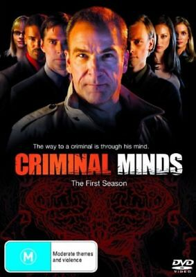 Criminal Minds : THE COMPLETE Season 1 (DVD 6-Disc Set) BRAND NEW FACTORY SEALED