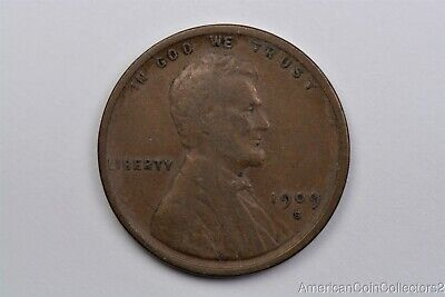 Scarce 1909-S Lincoln Wheat Cent Penny .01c 1C Look Key Date Cent  | 12761