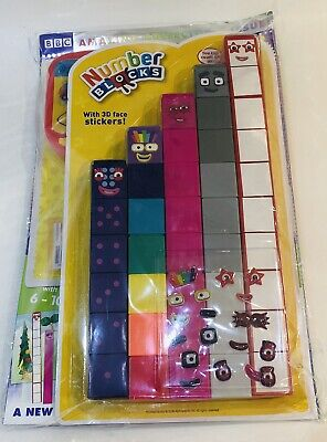 CBeebies SPECIAL Magazine #122 Number Blocks! AMAZING DOUBLE GIFT ISSUE!