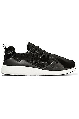 31c758198401 adidas Y-3 by Yohji Yamamoto Femme Boost Lace Women s Black White Sneakers  ...
