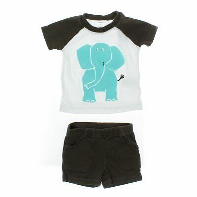 Carter's Baby Boys T-shirt, size 3 mo,  turquoise,  cotton