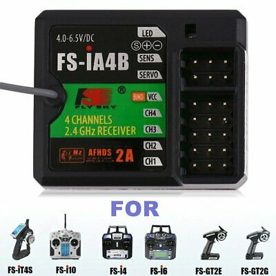 Flysky FS-IA4B 2.4G 4CH AFHDS Telemetry Receiver PPM Output With iBus Lot PS