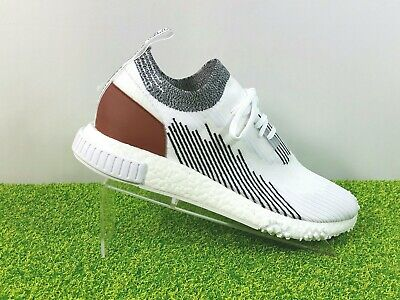 innovative design 3e6c8 e4fc5 Adidas NMD Racer Whitaker Car Club Shoes AC8233 White Black Redwood Mens  10.5