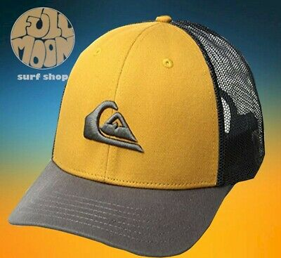 a8b515999b809 NEW QUIKSILVER GROUNDER Trucker Mens Snapback Hat Cap -  23.95 ...