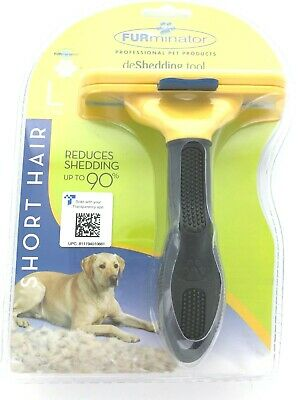 FURminator for Dogs Undercoat Deshedding Tool for Dogs for Short Hair Breeds