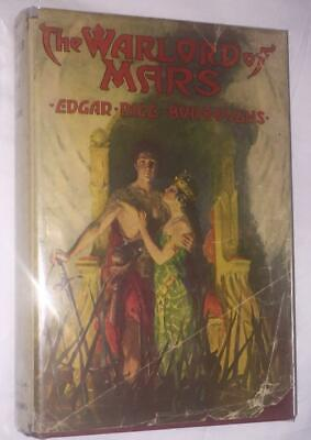 The Warlord of Mars Edgar Rice Burroughs 1stEd 1919 VG with Dustjacket!