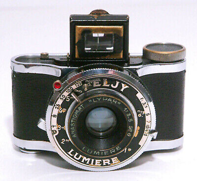 ELJY LUMIERE Subminiature Camera with Lypar f/3.5 Lens, from about the 1930's.