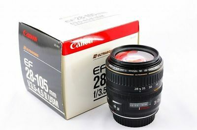 Very rare Canon EF 28-105mm f/3.5-4.5 II USM (C21-0121) made Japan.