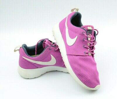 promo code 95f05 27226 Nike Roshe One Womens US Sz 7 Shoes White Club Pink Armory Blue Volt 511882  605