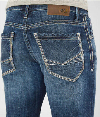 5d8d65365c9 NEW BKE Jake Boot Stretch Jean - Men's Jeans in Zimmerman | Buckle size  30x32