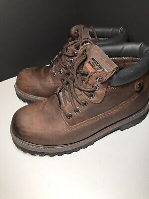 fa11926feb860 Skechers Mens Verdict Work Boot Memory Foam Waterproof Retails $95 4442  Size 10