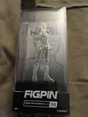 FiGPiN Captain Marvel Starforce 500 MADE! Limited Edition ECCC Exclusive RARE