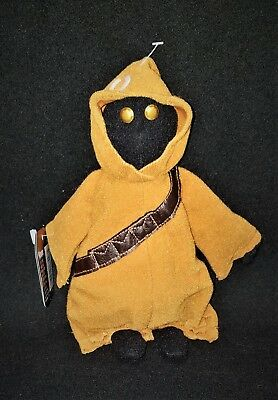 """New Star Wars BEANIE Kenner 1997 Tattooine JAWA with tag plush toy 9"""""""