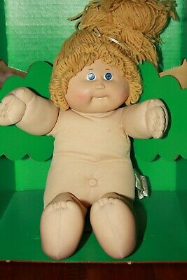 Cabbage Patch Kids - tlc vintage high pony butterscotch kid