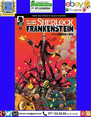 Sherlock Frankenstein. Vol. 1 La legione del male Bao Publishing Fumetto Graphic