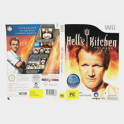 Hell's Kitchen The Game Wii Sleeve