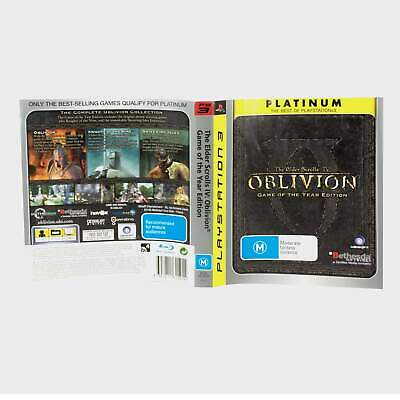 The Elder Scrolls 4 (Iv) Oblivion - Game Of The Year Edition Playstation 3 (P...
