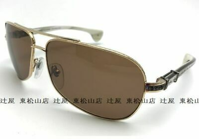 77af18f000dd CHROME HEARTS SUNGLASSES GRAND BEAST GP-EBPV Gold   Ebony Wood with ...