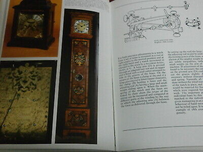 CLOCKS & WATCHES A Smith Hardback Book Longcase bracket mantle parts spare clock