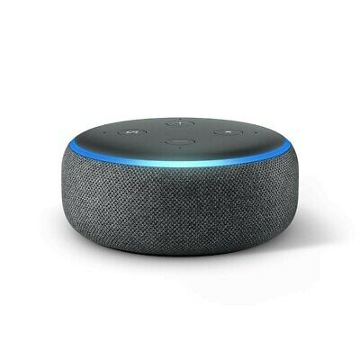 Amazon Echo Dot 3rd Generation w/ Alexa Voice Media Device - Charcoal