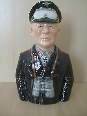 Toby jug. Erwin Rommel.RARE.militatry.German. WW11. Army.Soldier.Germany.