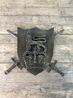Large Slate Military 1st Royal Dragoon's Wall Plaque.