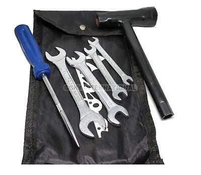 Vespa Handy Tool Kit With Black Strong Woven Pouch