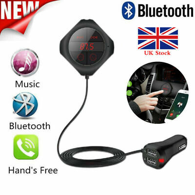 Wireless Bluetooth Car MP3 Player FM Transmitter Radio A2DP USB Charger Kit AUX