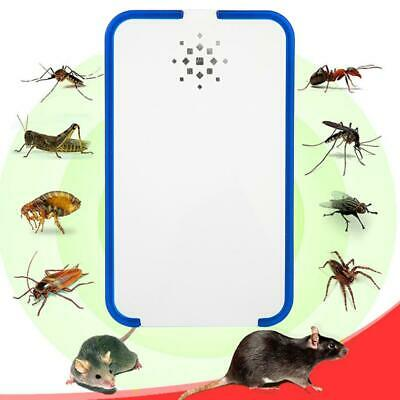 Electronic Ultrasonic Pest Reject Rat Mice Repeller Anti Mosquito Insect Killer