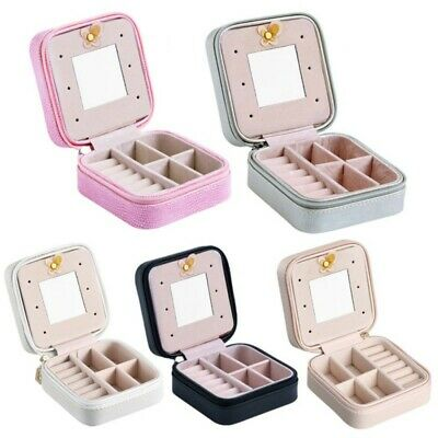 Display Box Earring Organizer Ring Tray Holder Show Jewelry