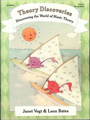 Piano Discoveries Theory Book Level 4 Vogt & Bates Ornamentation Triads Scales