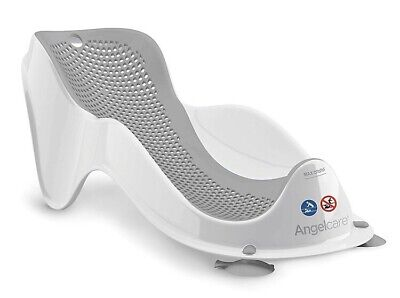 Angelcare soft touch mini bath support - grey
