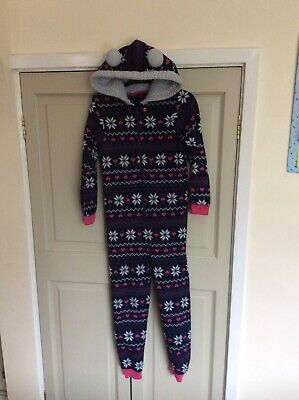Girls Fleece 1 Piece Outfit Age 9-10yrs