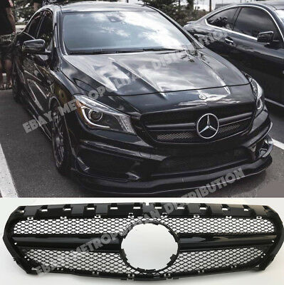 Mercedes CLA X117/C117/w117 AMG CLA45 NIGHT EDITION/sport grille,gloss black