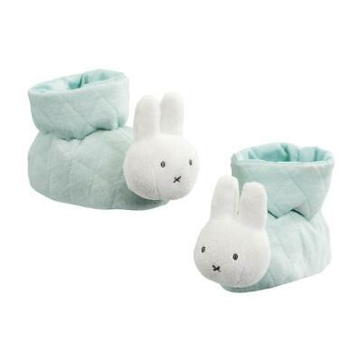 Miffy - Gift Boxed Baby Booties - Mint Colour ***new**