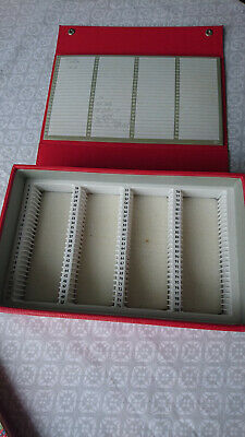 BOOTS SLIDE STORAGE BOX CASE TO FIT 100 slides Used