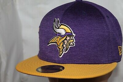 06ca76a94e595 2018 MINNESOTA VIKINGS New Era 59FIFTY NFL Salute To Service ...
