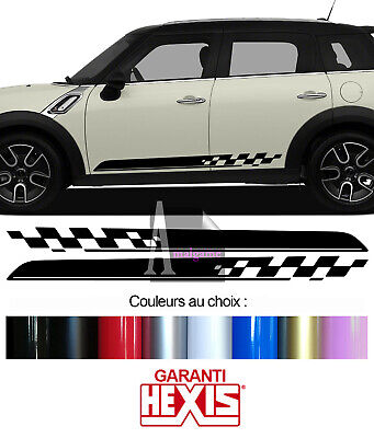 2 Bandes Bas De Caisse Portes Mini Countryman All4 Autocollant Sticker Bd540-2-1