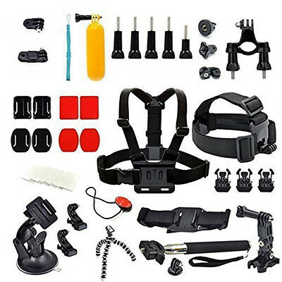 Action Camera Chest Strap Floating Monopod Bundles for Gopro Hero 7 Xiaomi Yi 4k