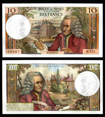 Billet France - 10F Voltaire - 01.06.72 - S 771 - NEUF - Fay : 62.57